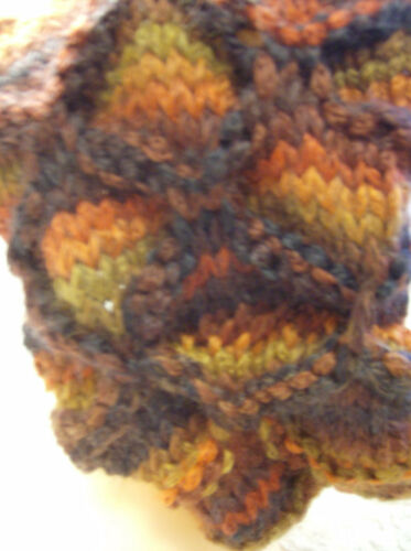 Tiger/'s Eye Cowl Simple Super Chunky Knit Pattern