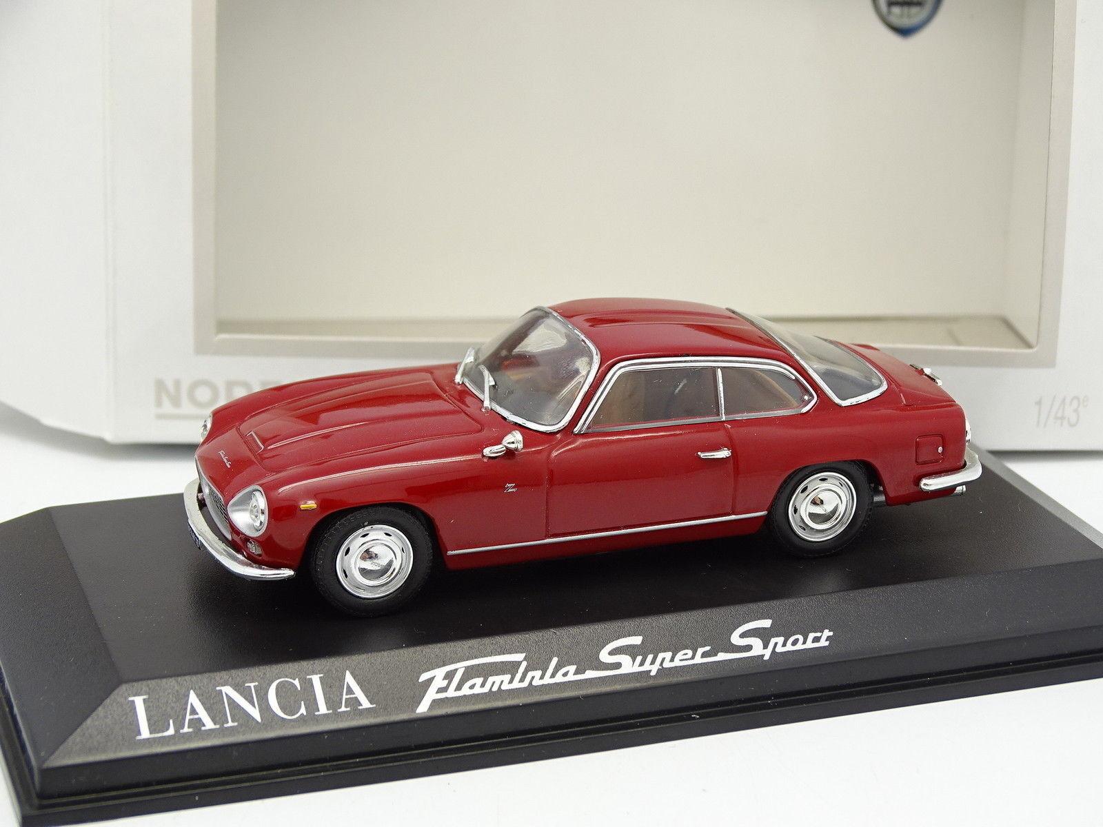 Norev 1 43 - Lancia Flaminia Super Sport Rouge