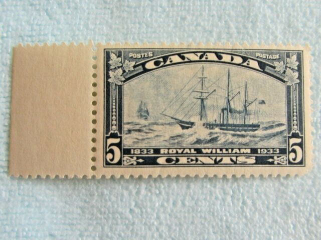 CANADA  STAMP  **  ROYAL  WILLIAM  BOAT **  1933   SUPER  CONDITION  LOW MINTAGE