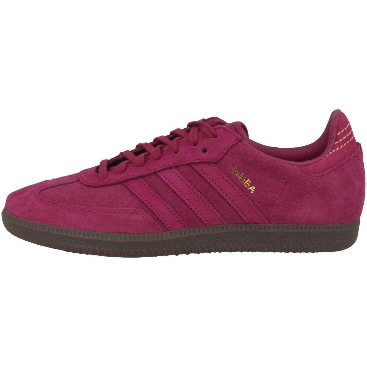 Adidas Samba FB Schuhe Originals Freizeit Fussball Sneaker mystery ruby CQ2091