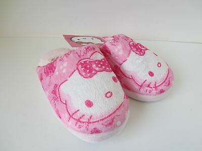 GIRLS HELLO KITTY SLIPPERS UK SIZE 8 - 13