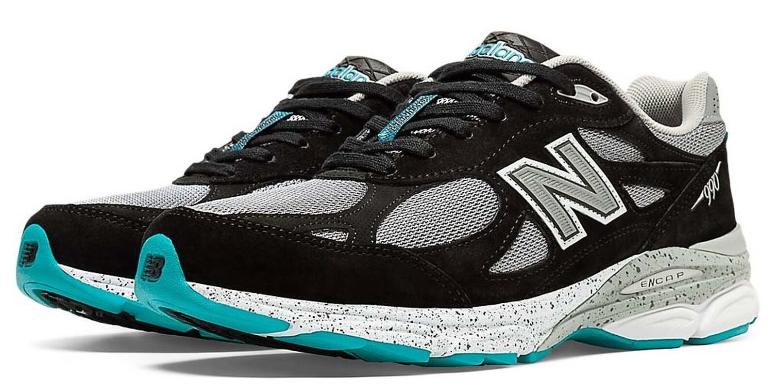 New Balance M990 Version 3 Men's Running shoes, Size  9 Width  D color  Black ...