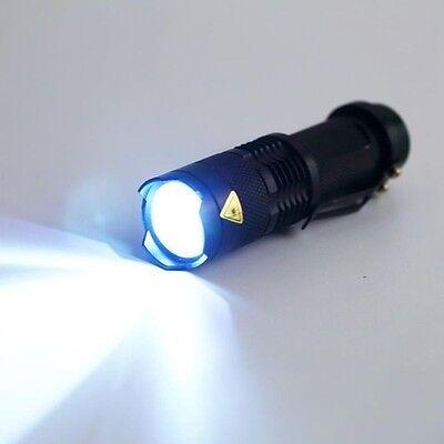 Initiative Cree Q5 7w 2000lm 3 Modes Zoomable Led Flashlight Torch Adjustable Light Lamp In Verschiedenen AusfüHrungen Und Spezifikationen FüR Ihre Auswahl ErhäLtlich