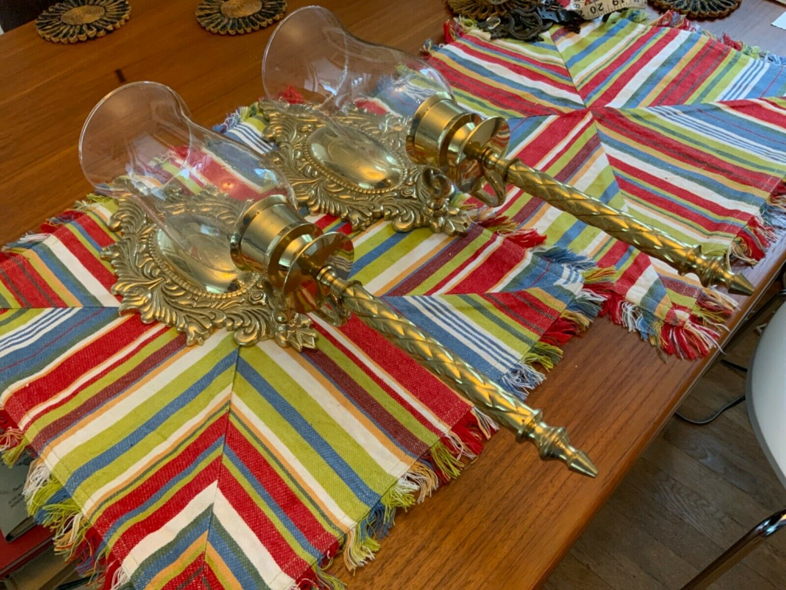 Image of: Triarch 29030 2 Bombay Wall Sconces For Sale Online Ebay
