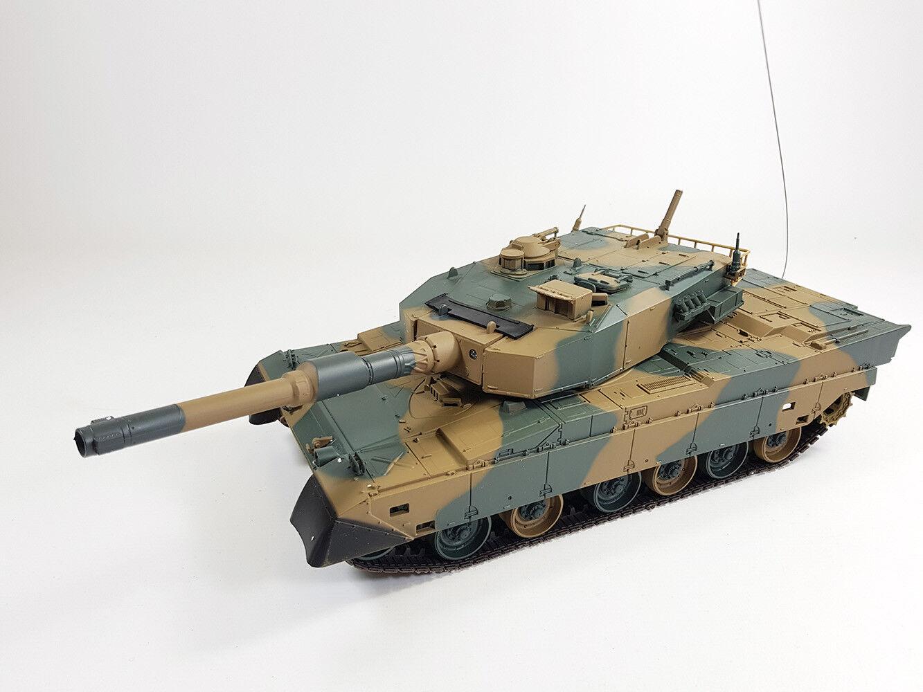 UK HENG LONG Radio Remote Control RC Tank T90 BB Firing RTR Military Model 3808