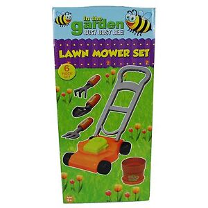 In The Garden Kids Junior Toddler Summer Toy Lawn Mower