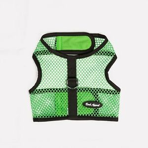 Bark-Appeal-Wrap-n-Go-Netted-Dog-Step-In-Harness-Green-Sizes-XS-XL
