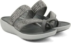 b64505358097 Clarks Wave Bright Textile Sandals In Silver Standard Fit UK various ...
