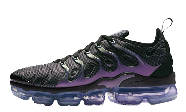 Mens Nike Air Vapormax Plus 924453 014 Black purple EggPlant