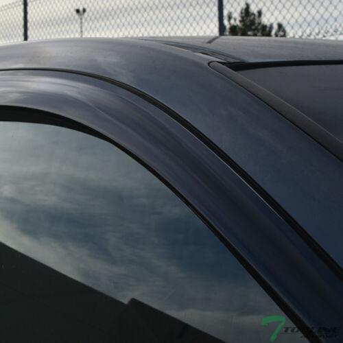 Topline For 2005-2015 Tacoma Access//Double Sun Rain Guard Vent Window Visors 2pc