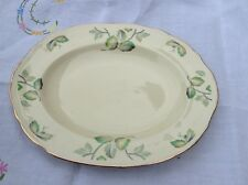 "Alfred Meakin Royal Marigold Greenway 11 1/2"" Oval Platter some crazing"