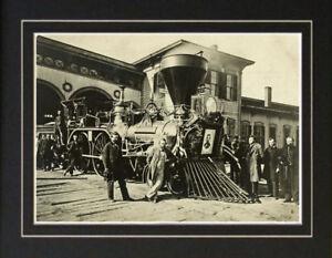 1865 Abraham Lincoln Funeral Train Photo Assassination Ebay