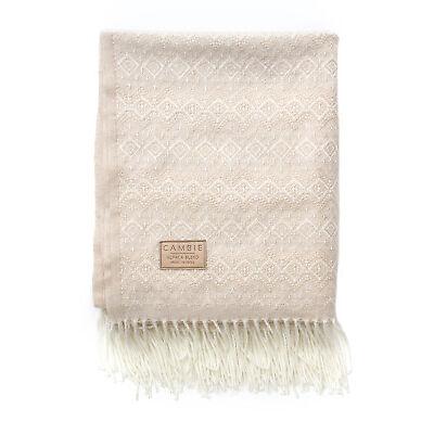 Cambie Winter Cozy Blanket - Alpaca Blend - Winter Cozy Designer Collaboration