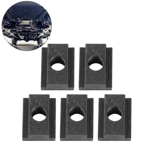 5pcs Iron T-Slot Nuts Ideal T Slot Nut for Toyota Tacoma Truck Bed Deck Rails