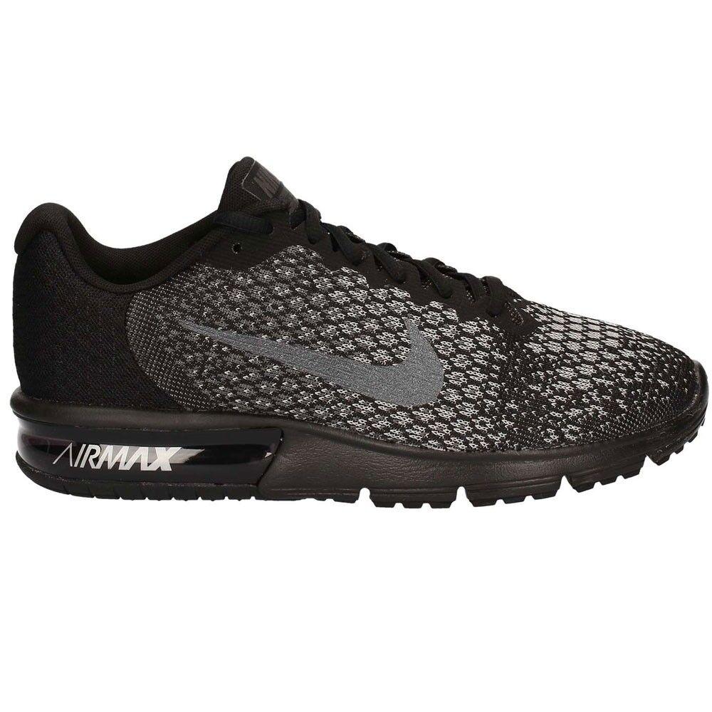 Nike AIR MAX SEQUENT 2 852461-001 schwarz Mod. 852461-001 Rutschfest