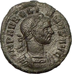 AURELIAN-270AD-Very-Rare-Bronze-Denarius-Ancient-Roman-Coin-Victory-i18151