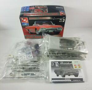 New-Open-Box-1962-Vintage-Ford-Thunderbird-Model-Kit-30081-AMT-ERTL-1-25-Skill-2