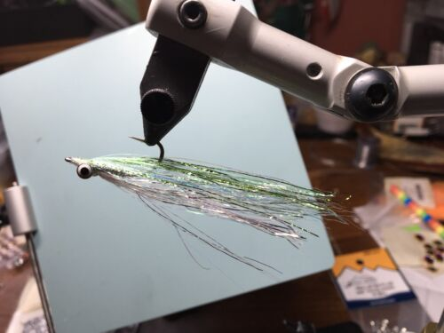 Polar Flash Clouser Minnow Size 4 Fresh And Saltwater Bass And Other Gamefish