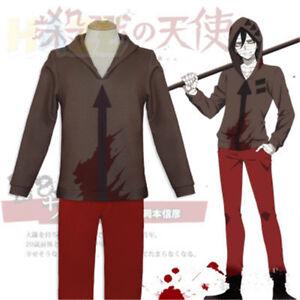 Angels of Death Isaac·Foster Zack Hoodies Coat Sweatshirt Cosplay Costume Adult