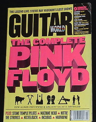 Pink Floyd Complete,Stevie Ray Vaughan,STP Dec 2001 Guitar World Magazine