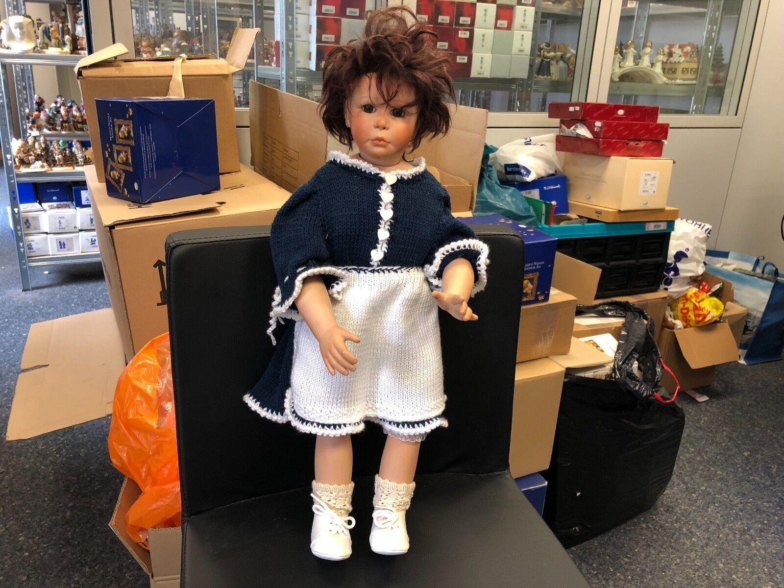 Artistas muñeca muñeca de porcelana 51 cm. top estado