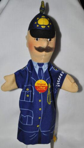 """Steiff Steiff 255250 Handspielpuppe """"Policeman/Gendarm"""" neu mit allen IDs"""