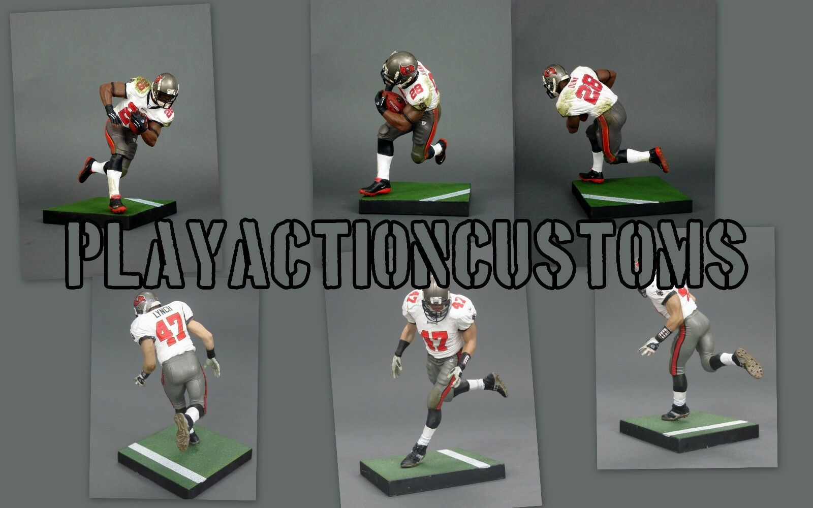 Choice of 1 Tampa Bay Buccaneers Custom  Action Figure made w Mcfarlane NFL