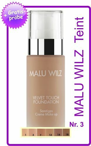 """Malu Wilz """"Teint"""" Velvet Touch Foundation Nr. 03"""