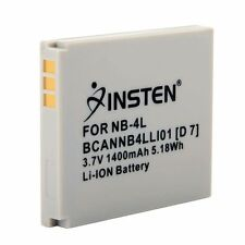 For Canon PowerShot SD1100 IS NB-4L INSTEN Battery Pack