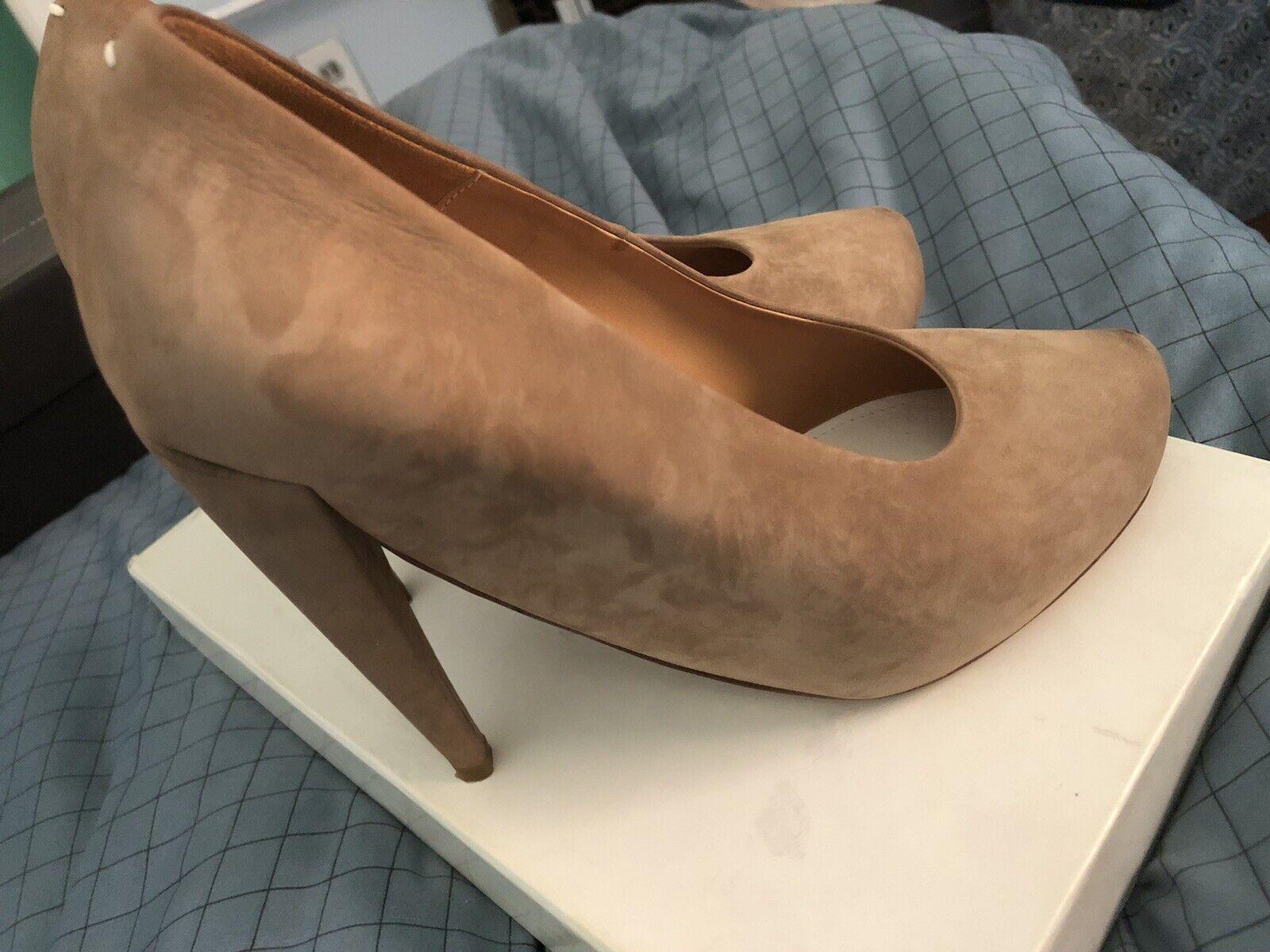 Maison Martin Margiela High Heel Leather Shoes Si… - image 4
