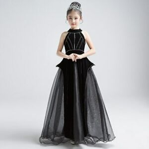 official photos various styles undefeated x Details about Sleeveless High-end Princess Catwalk Party Costume Ball Gown  Communion Dress