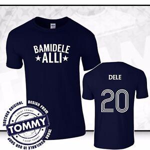 detailed look ce4ac 86f36 Details about Tottenham Hotspurs Dele Alli T-Shirt COYS Bamidele Alli Ali  tshirt
