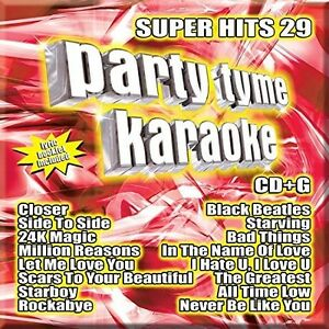 Various-Artists-Party-Tyme-Karaoke-Super-Hits-Vol-29-New-CD