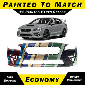 789991a0ffd NEW Painted To Match - Front Bumper Cover for 2015-2019 Subaru WRX ...