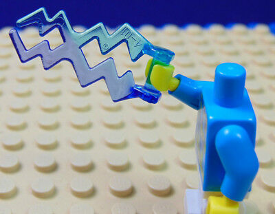 LEGO-MINIFIGURES SERIES X 1 ORANGE /& PURPLE WAVE ELECTRIC ZIGZAG SPARK PATTERN
