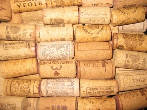 50 Used Mixed Natural Wine Corks Crafts Weddings