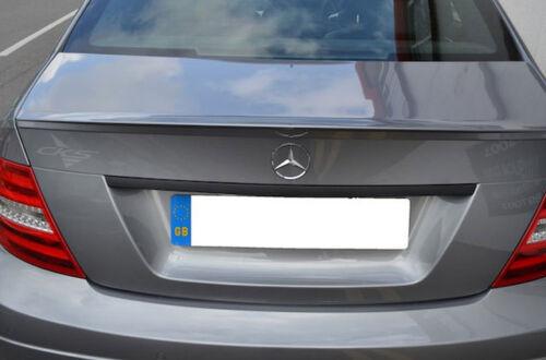 Mercedes AMG W204 C Clase Arrancar Tronco Tapa Manija de mango de la Tapa Negro Mate