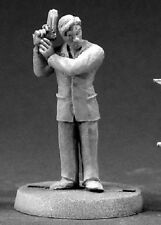 Daniel Secret GUARD Agent Reaper Miniatures Chronoscope ATZ Modern Zombicide