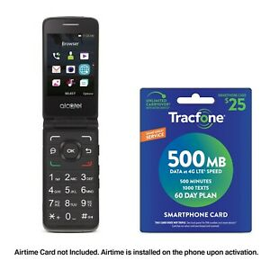 Tracfone-Alcatel-MyFlip-A405-Phone-25-Tracfone-Airtime-Plan