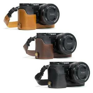 MegaGear-034-Ever-Ready-034-Leather-Camera-Case-for-Sony-Alpha-a6300-ILCE-6300-a6000