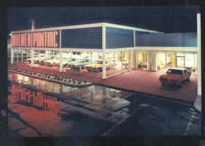 Tulsa Car Dealerships >> Details About Tulsa Oklahoma Milner Pontiac Car Dealer Advertising Postcard Copy Old Cars