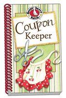 Gooseberry Patch Coupon Keeper Organizer Holder Spiral Booklet Choose Design