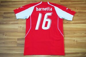 new style 721f0 d70ae Details about SWITZERLAND NATIONAL TEAM 2004-2006 HOME FOOTBALL SHIRT  JERSEY M #16 BARNETTA