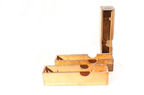 alte Holzkiste Kiste Holz Box Transportkiste Aufbewahrung Messwerkzeug Lehrdorn