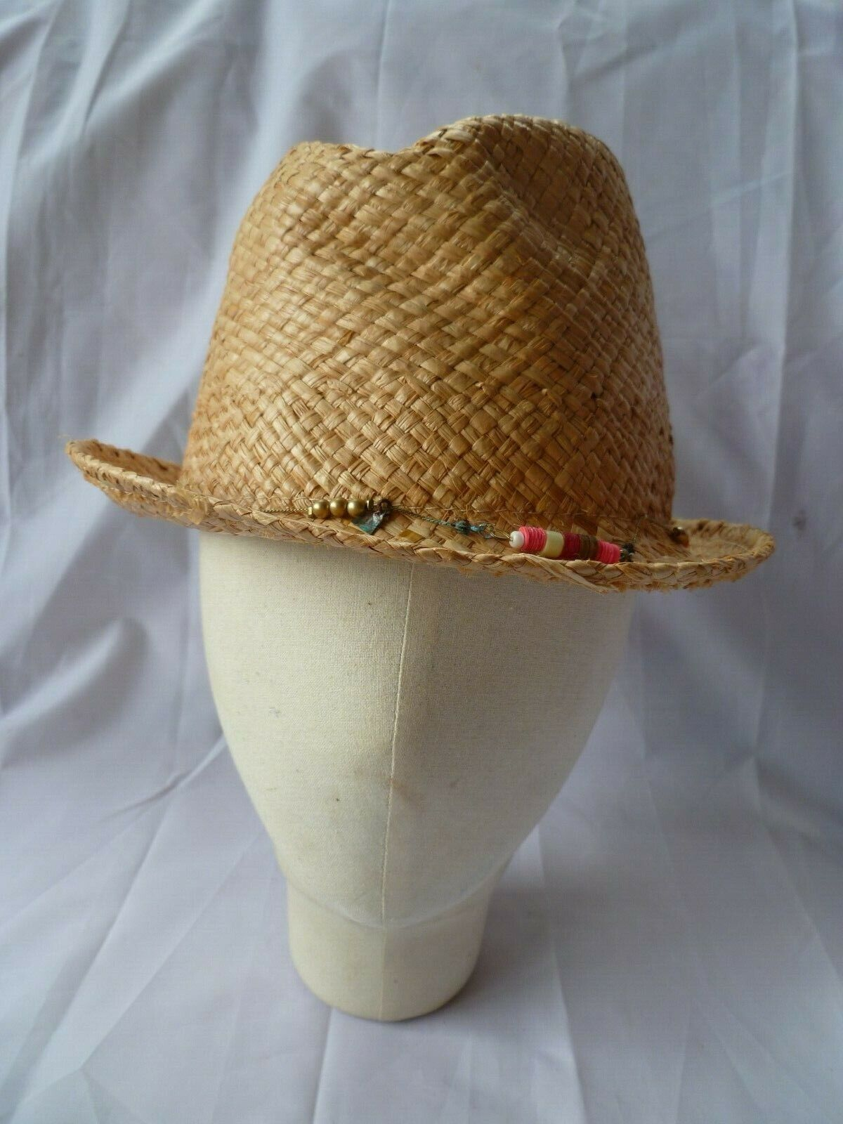 'Accessorize' 100% Straw Brimmed Hat (old ex-stock)