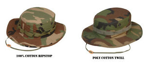 Woodland-Camo-Military-Spec-Boonie-Hat-by-TRU-SPEC-FREE-SHIPPING