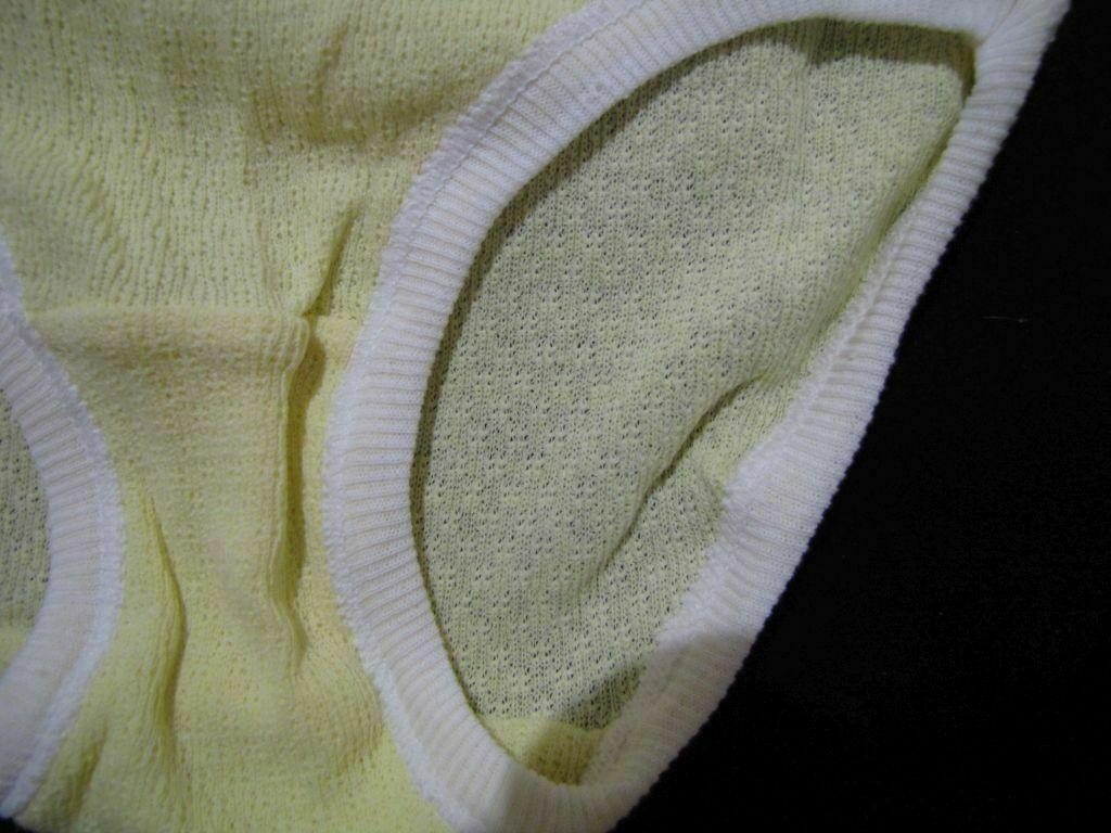 Size ML Russia Ukraine Soviet Fashion White Soviet Vintage Unused Women Underwear Russian 100 /% Cotton Underpants Factory Made in USSR