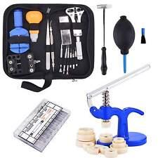 Professional Watch Repair Tool Kit -Case Opener Remover Bars Hammer Tool Set Top