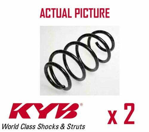 2 x FRONT AXLE COIL SPRING PAIR SET SPRINGS KYB OE QUALITY REPLACEMENT RH1713