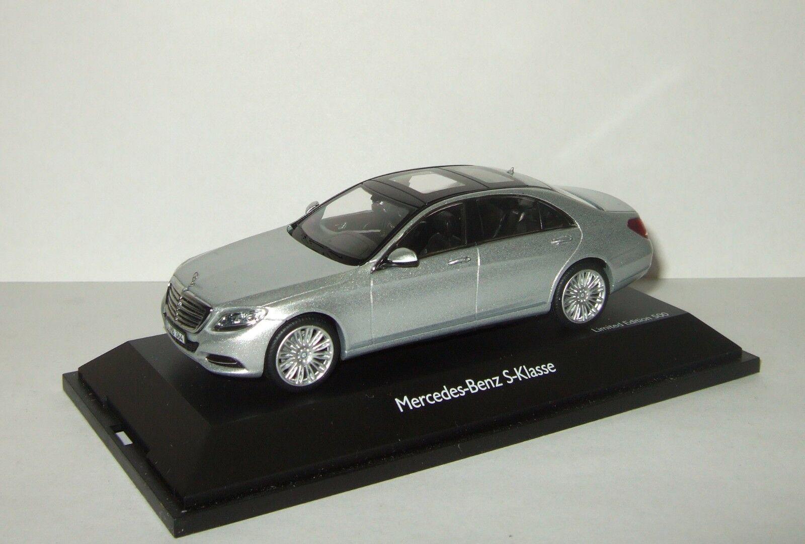 1 43 Schuco Mercedes Benz W222 V222 Clase S 2013 LIMOUSINE plata 450753600